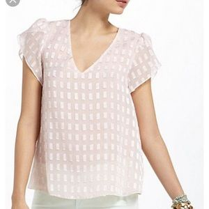 Electric Love Light butterfly top Anthropologie
